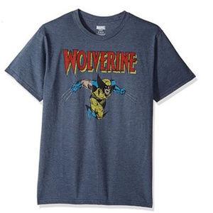 NWT Wolverine Navy Blue T-Shirt S L
